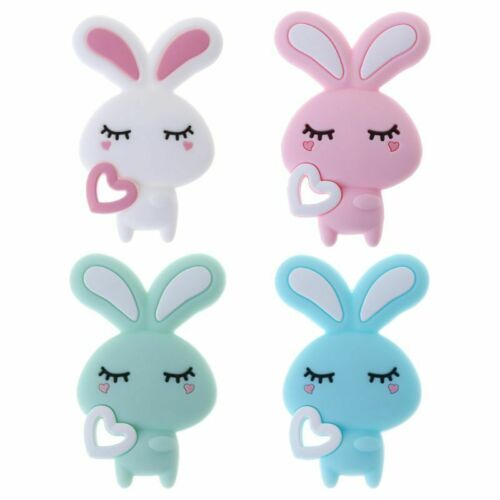Baby Child Pacifier Teether Soothing Cute Bunny Colorful Design Comfort Supplies