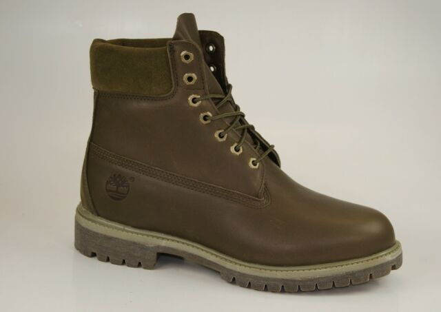 low priced be436 8d51e Timberland 6 Inch Premium Boots Size 44 US10 Waterproof Men's Lace up 6119B