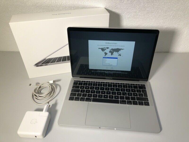 macbook: Apple Macbook Pro 13 Retina – 2 GHz Core i5 – 256 GB SSD – 8 GB – 2016 – silber