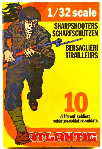 set 2109 mint-in-box Atlantic World War II Italian Bersaglieri 60mm scale