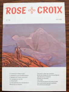 ROSE-CROIX-Revue-N-106-de-1978-Ordre-rosicrucien-mondial