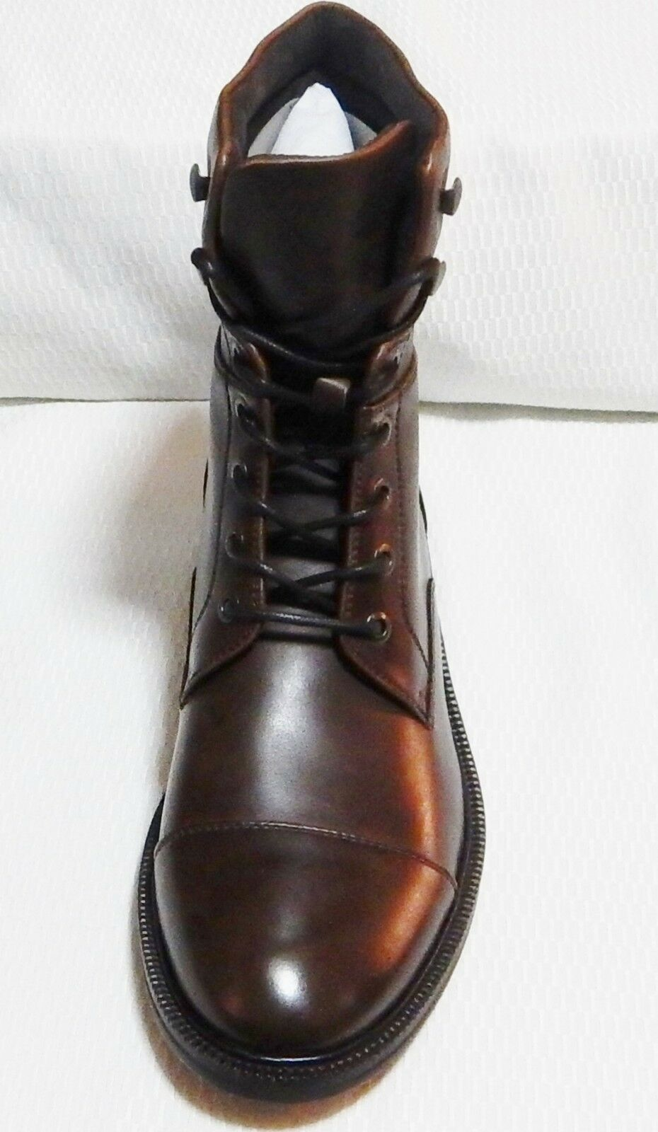 KENNETH TOE COLE LET'S ROLL CAP TOE KENNETH BOOT( BROWN ) NEW WITH BOX  SIZE 8. M  #1775-1 4db81c