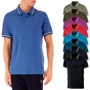 2788acb21d Polo Lotto Uomo T-shirt 100% Cotone Maglietta Comoda Maglia Mezza ...