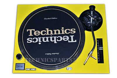 Technics Face Plate for Technics SL1200MK2 SL1210MK2 Yellow