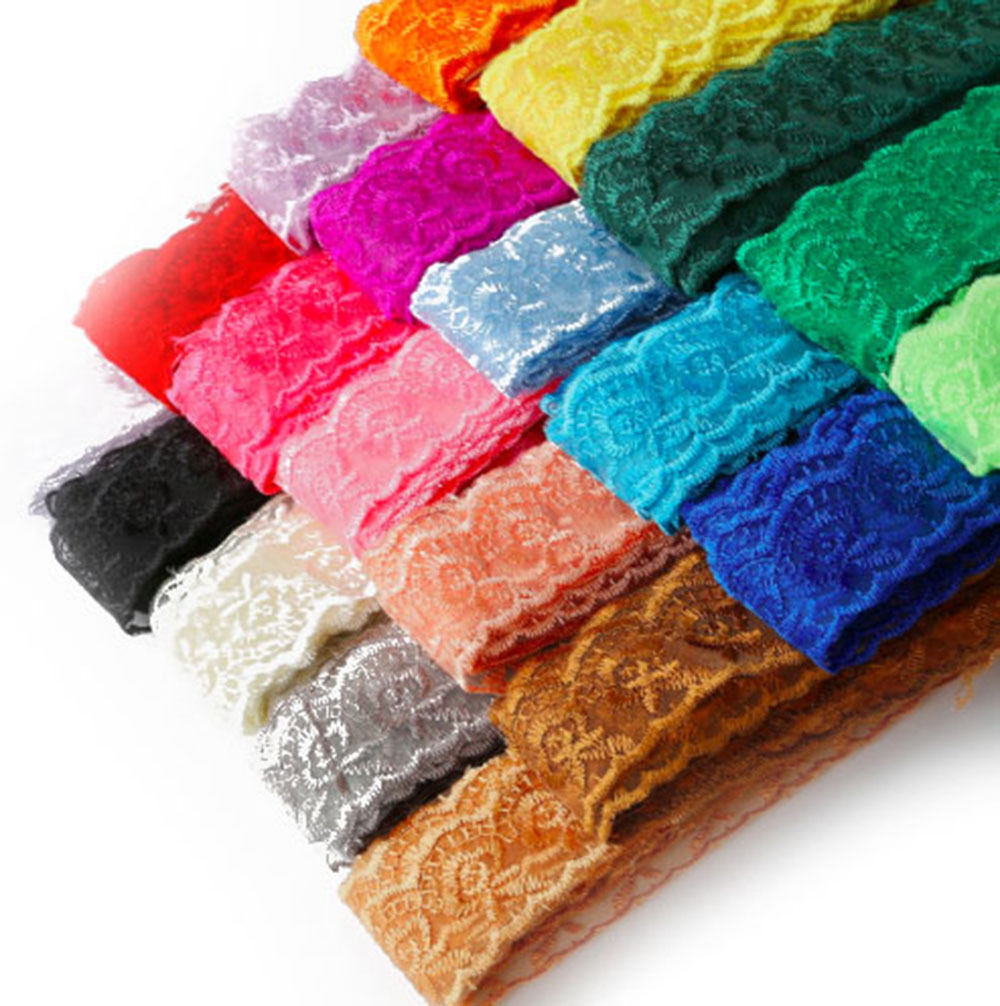 Vintage Style Lace Ribbon Trimming Bridal Wedding Net Trim Scalloped Edge 60mm