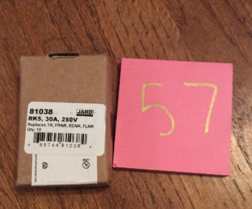 Box Of 10 MERSEN Fuse cartridge FRN-R-30