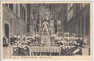 54476-AK-Werl-Kreis-Soest-Wallfahrtskirche-Gnadenaltar-vor-1945