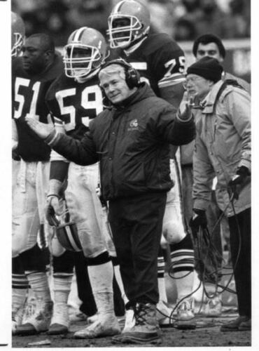 1989 Cleveland Browns Bud Carson Defensive Football Coaching Playbook {LQQK}