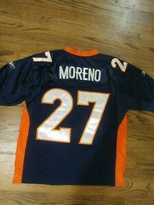 NFL Jersey Denver Broncos Knowshon Moreno Navy sz 48 Reebok