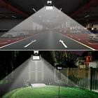 Solar Motion Flood Light Sensor Powered LED Security Outdoor Garden Waterproof