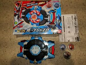 Ultraman Blue Rosso DX Rube Gyro Henshin Toy Used