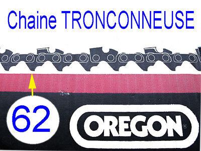 CHAINE DE TRONCONNEUSE OREGON 3//8 1.3mm 62 maillons