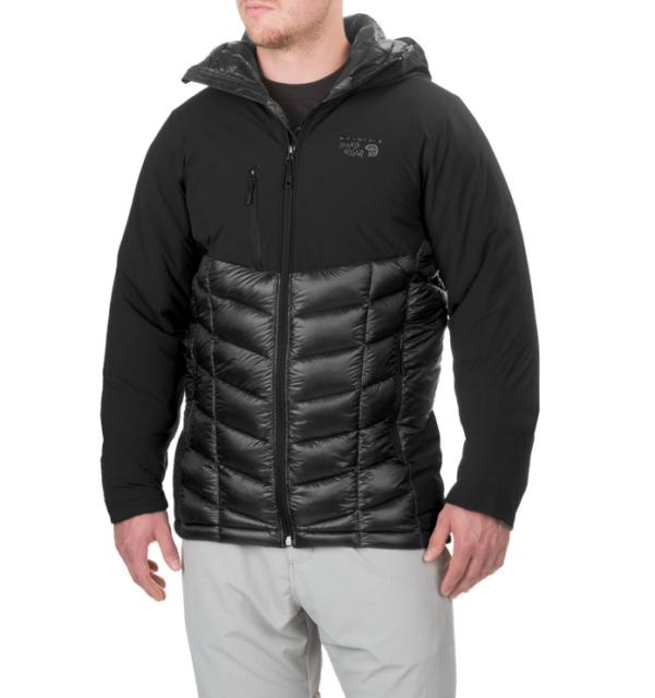 Mountain Hardwear Hypedown EXS Down Jacket Mens Size M Medium Forest Green