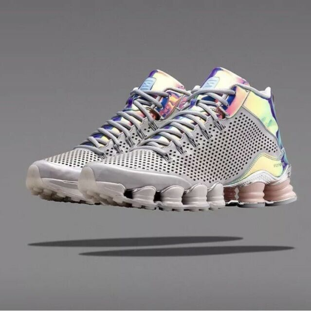 Mens 9 NIKE Shox TLX Mid SP Dusty Greyreflect silver chrome Shoes 677737 006