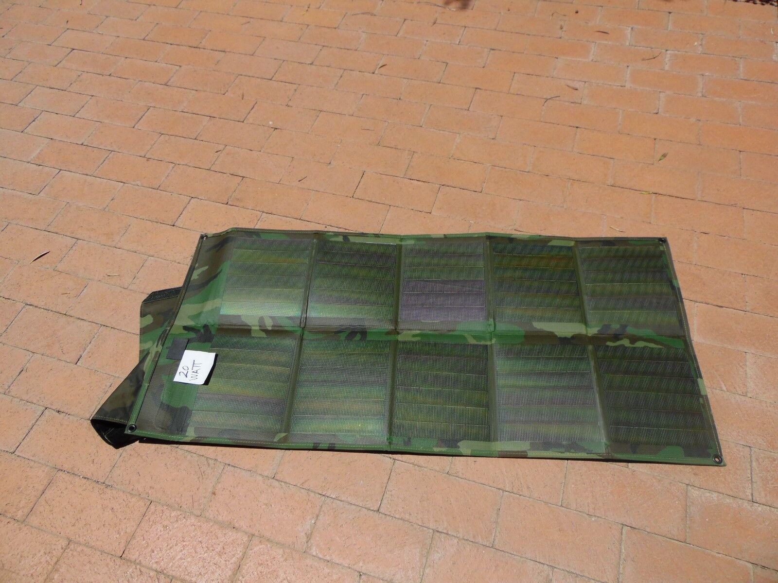20 Watt Solar Module (w  flap) Grün - Free shipping  BEST OFFER