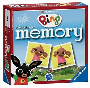 Ravensburger-Bing-Bunny-Mini-Memory-Childrens-Pairs-Matching-Card-Game
