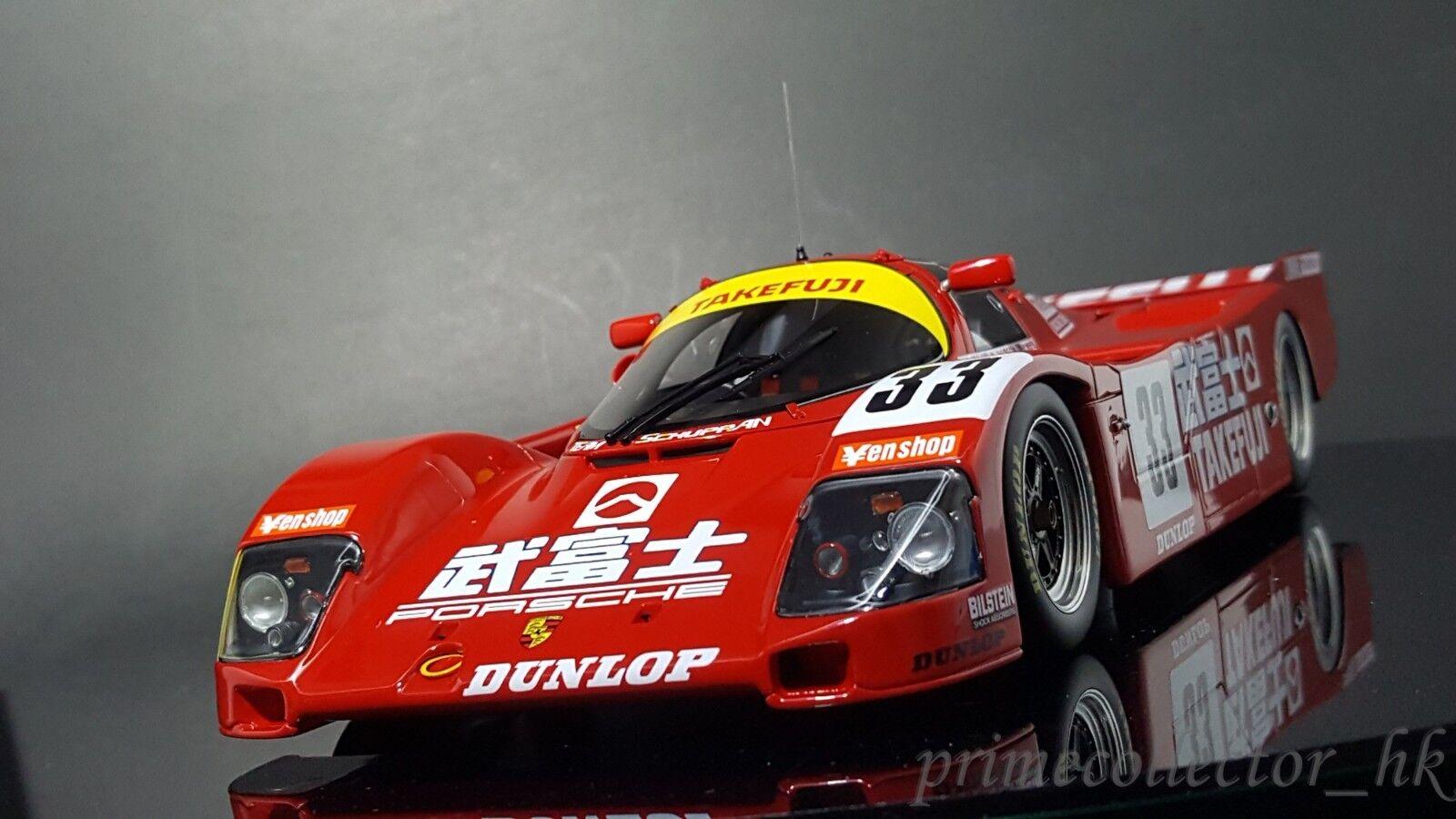 tienda de venta Ignición Modelo 1 18 IG1205 Takefuji Porsche 962 C ( ( ( 33) 1989 Le Mans  mas barato