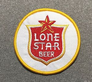 LONE-STAR-BEER-Circle-Patch-3in-Brewery-Brewing-si