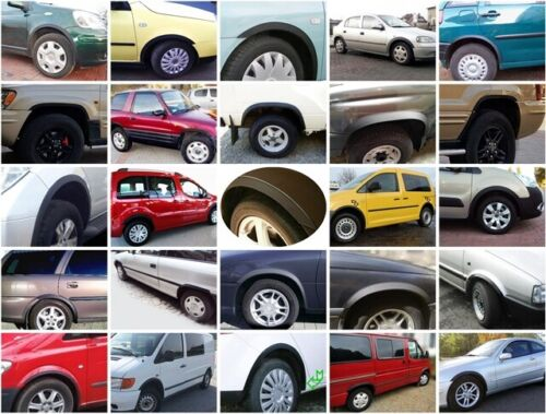 Renault Kangoo radlauf las molduras negro delante atrás 4 piezas BJ 98-09 sale