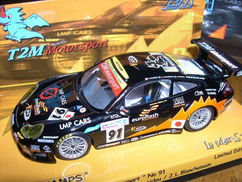 PORSCHE 911 996 GT3 LM2005 T2M MINICHAMPS 1 43 43 43  999 PCS 403056891 3c82c8