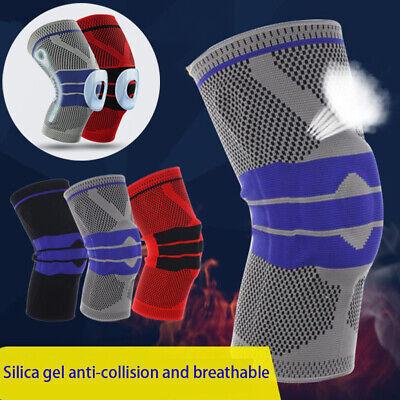 Knieorthese Knieschützer Kniebandage Knieschutz mit Gelring Muskelunterstützung