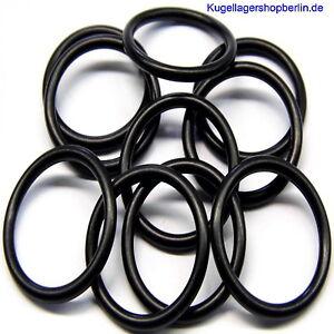 Ringe Null Ring Innen ø 13 x 2,5 mm Schnurstärke 2 Stück O Werkstoff NBR 70