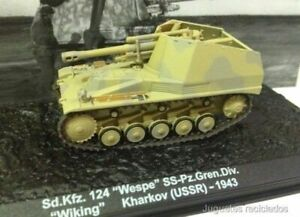 Sd-Kfz-124-Wespe-SS-Pz-Gren-Div-Wiking-Kharkov-USSR-WWII-1-72-Tank-Altaya