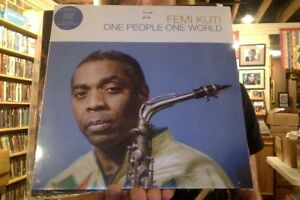 Details about Femi Kuti One People One World LP sealed vinyl + download