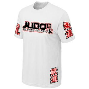 T-SHIRT-JUDO-MARTIAL-ART-JAPAN-COMBAT-SPORTS-Jersey-Siebdruck
