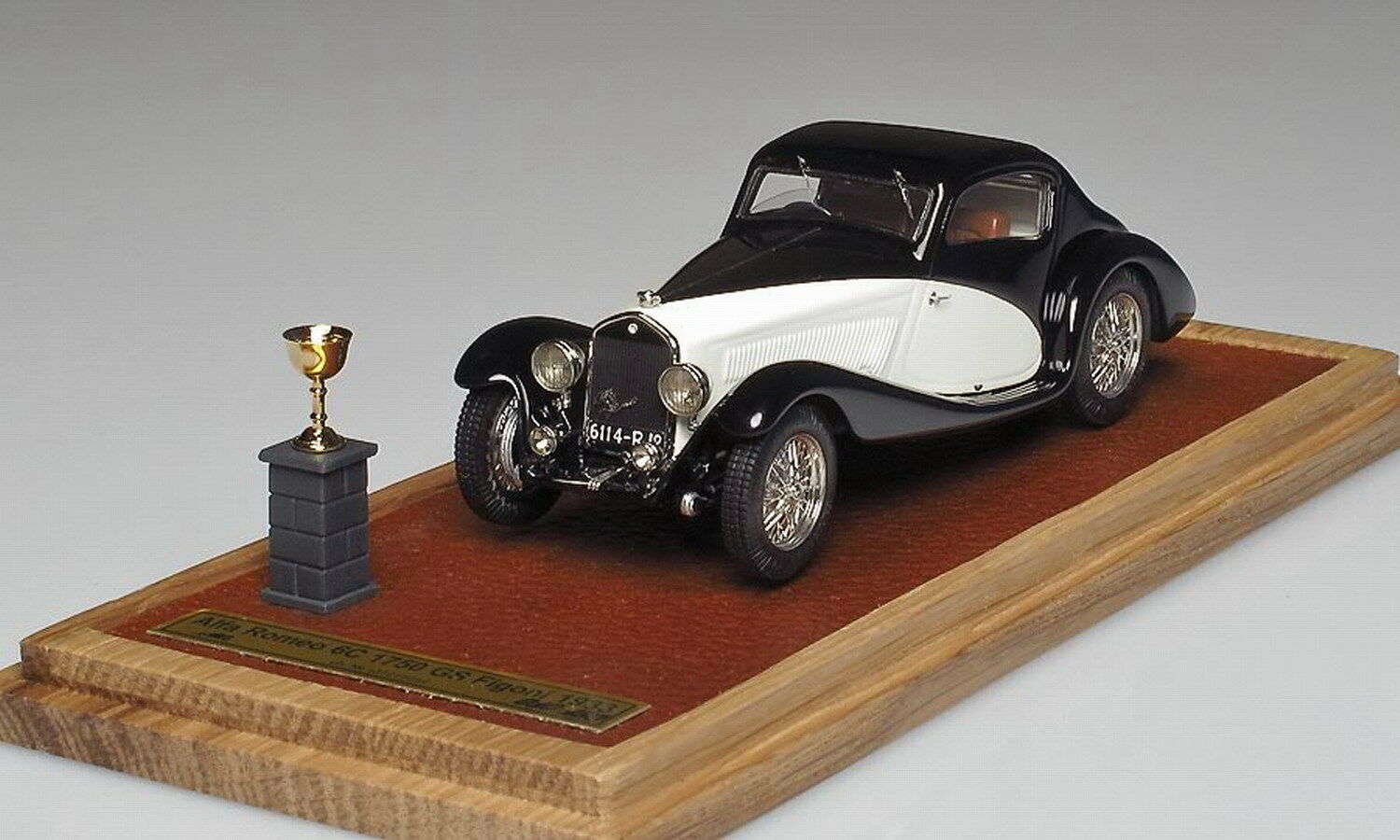 1 43 EMC Alfa Romeo 6C 1750 GS Figoni 1933 n bbr abc remember