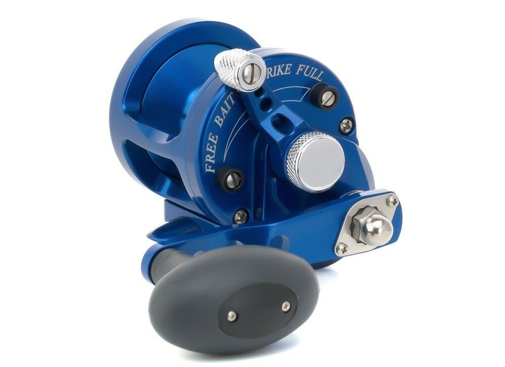 Avet SX 5.3 MC Cast Single Speed Lever Drag Reel SX5.3MC Right Hand - blueE New