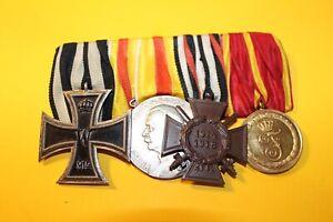 Nachlas-Ordine-Medaglia-Croce-Ferro-Baden-Al-Fronte-Del-1WK-Kriegerverein