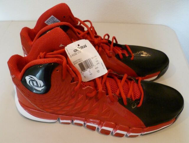 best website 396c0 7fcf0 D ROSE 773 II Adidas Basketball Shoes Size 18 Red Black White New With Tag  NWT