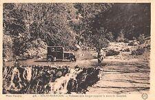 Africa postcard Atlas Marocain Ruisseau sans danger coupant la route de Goundafa