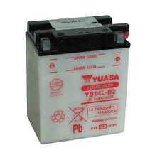 Batterie Moto Yuasa YB14L-B2 12v 14.7ah 175A 134X89X166MM ACIDE OFFERT