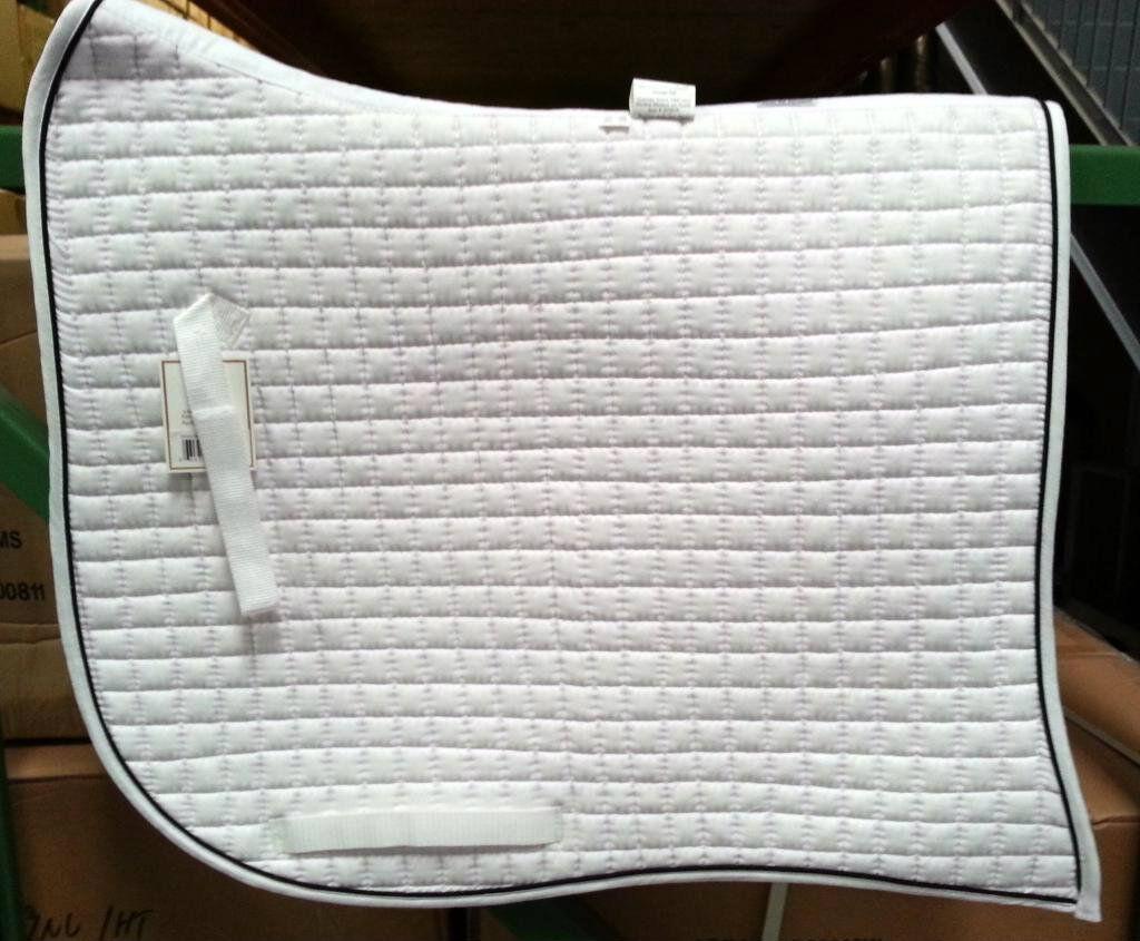 PRI PACIFIC RIM COTTON DRESSAGE SWALLOWTAIL SHOW SADDLE PAD  (MORE COLORS)  online sale