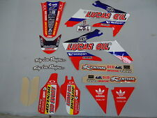 Honda CRF450 2005-2008 Troy Lee Designs Team Lucas Oil graphics kit EJ2015