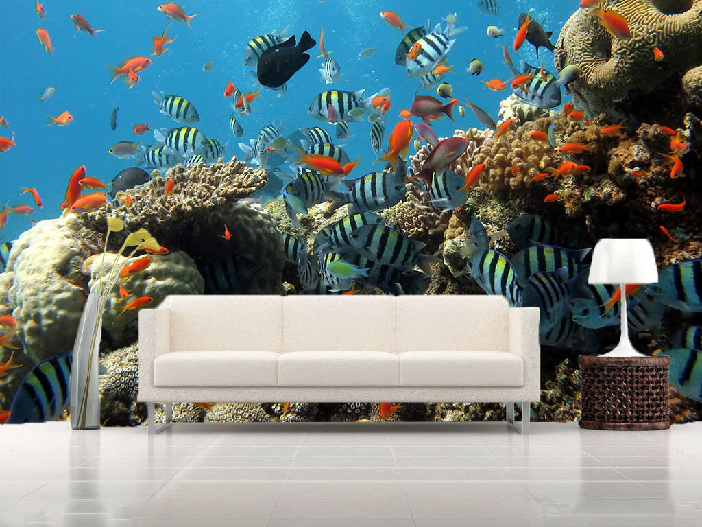 3D Meeresfischriff 576 Tapete Tapeten Mauer Foto Familie Tapete Wandgemälde DE