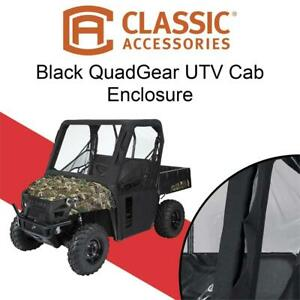 NEW Classic Accessories 18-124-010401-00 Black QuadGear UTV Cab Enclosure Condtion: Like New, Black (E57)(2520524) Oshawa / Durham Region Toronto (GTA) Preview