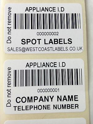 1040x Totalmente Personalizadas inspección visual Pat prueba Etiquetas Custom Pat Etiquetas