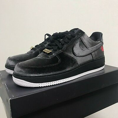 515e5c22c1d2 Nike Air Force 1  07 QS Black Velvet Rose AF1 Shoes AH8462-003 Size ...