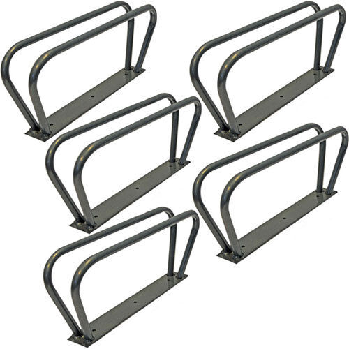 5 BICYCLE CYCLE BIKE STORAGE UPRIGHT WALL RACK HOOK NEW WALL MOUNTED FOR LOCK