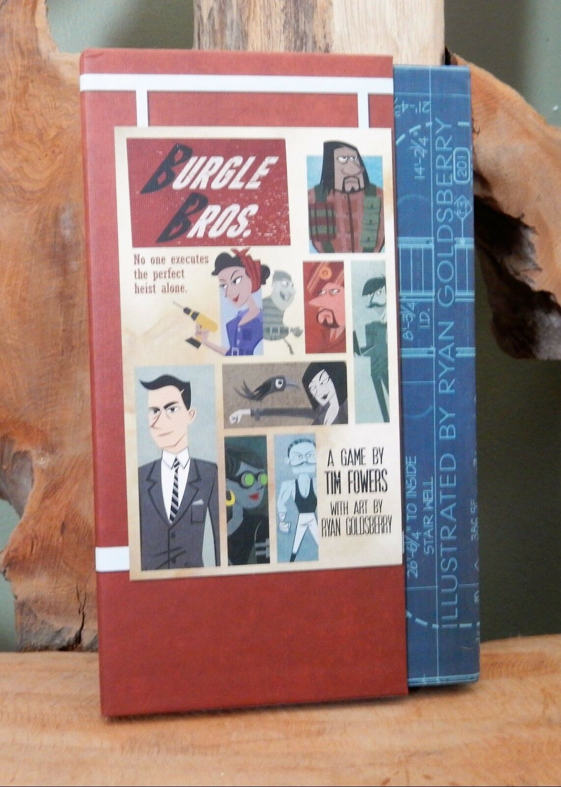 Burgle Bros. (2015) 2015 golden Geek Best Family Game Nominee - RARE L@@K