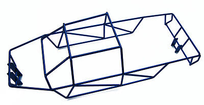 RC Raven E-Maxx 3908 3903 Blue polished Stainless Steel Full Roll Cage NEW