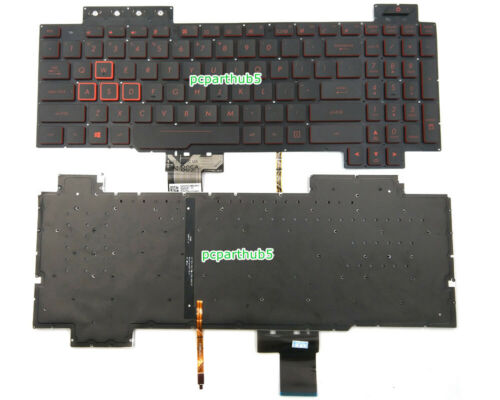 New Asus TUF Gaming FX504 FX504GD FX504GE FX504GM FX80 FX80GM Keyboard US Backli