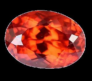7.35 Ct Natural Fire Orange Sapphire CERTIFIED Oval Sparkling Tanzania Gemstone