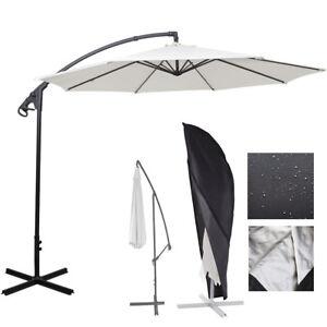 Image Is Loading Outdoor Garden Cantilever Hanging Umbrella Parosol Dust UV