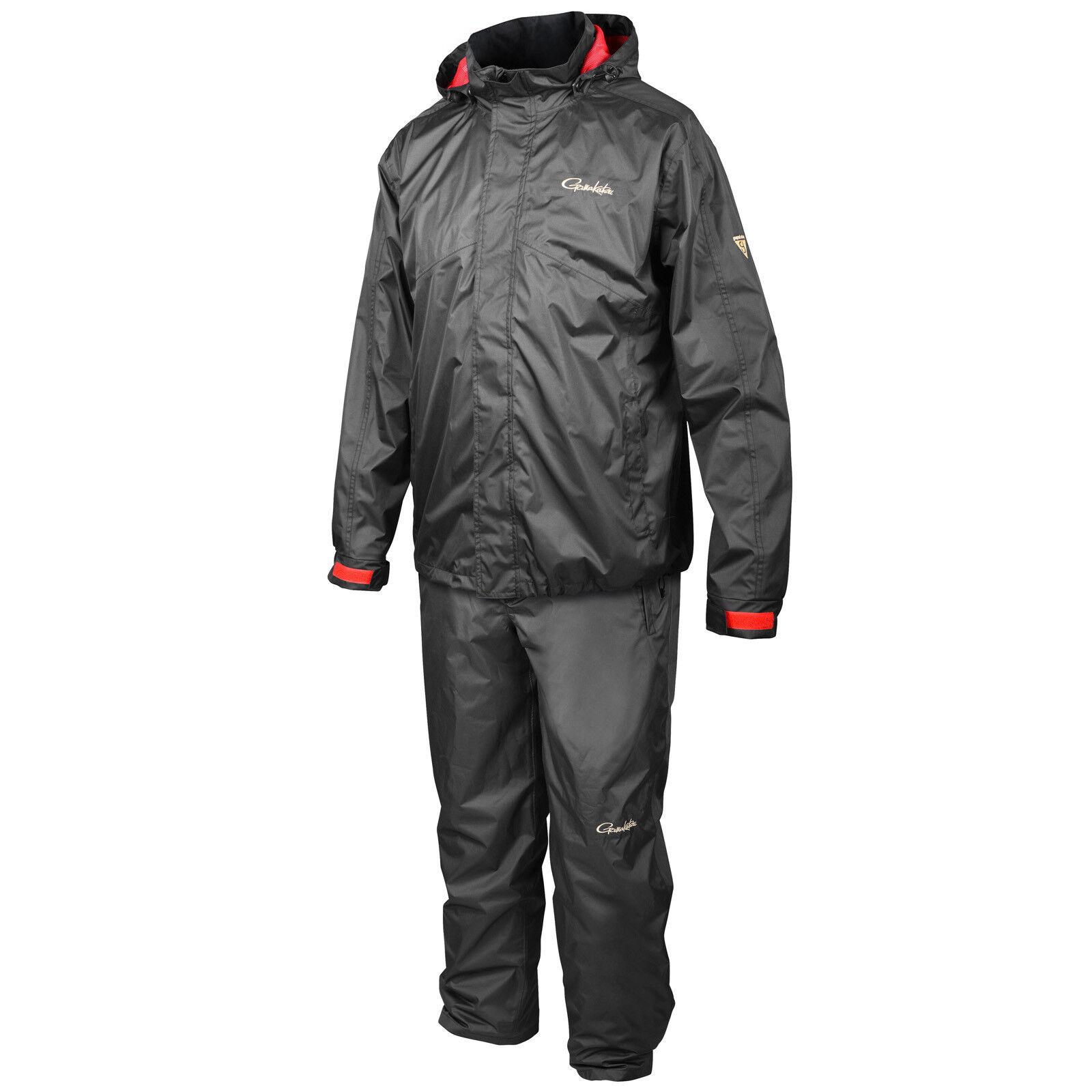 Dirigido Gamakatsu Ripstop lluvia traje lluvia traje chaqueta M-XXXL y pantalones transpirables