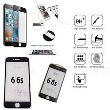 FULL iPhone 6 4D Temper Glass Lcd Screen Protector For Apple Iphone 6 6s -BLACK
