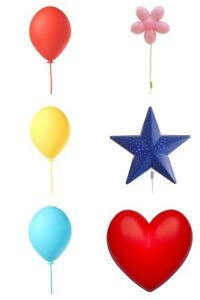 Image Is Loading Ikea Childrens Smila Wall Lights Choice Of Balloon